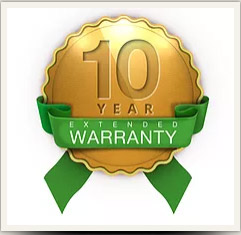 10 Year Warranty & EVEN STRONGER REPAIRS